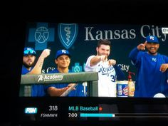 Did you see Moose in the dugout tonight??? Love seeing them all together! If you can get past Hoz, he's to the far left, lol.