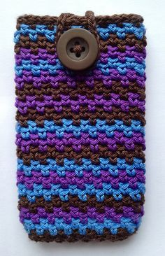 Ravelry: Project Gallery for Mobile Phone Covers pattern by Lily / Sugar'n Cream