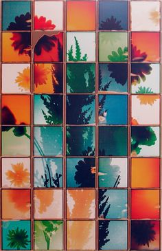 Patrick Winfield's large-scale grid composites from single pieces of Polaroid integral film. Straight Photography, A Level Photography, Still Life Photography, Artistic Photography, Film Photography, Art Optical, Multiple Images, A Level Art, Art And Architecture