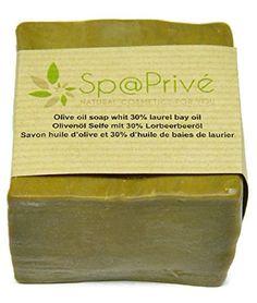 Savon huile d'olive et 30% d'huile de baies de laurier 190g original Made in France: Produit de qualité professionnelle pour votre Spa…