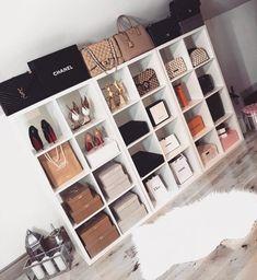 Room Ideas Bedroom, Closet Bedroom, Bedroom Decor, Dressing Room Closet, Walk In Closet Design, Closet Designs, Vanity Room, Luxury Closet, Glam Room