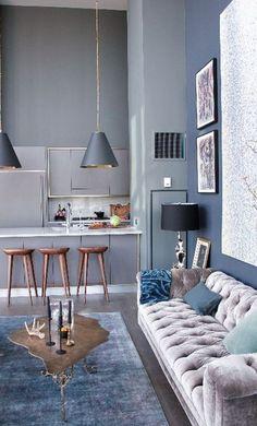 trendy living room decor idea
