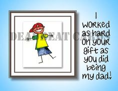 Dead beat dad card Happy Father's Day have a by DeadbeatCards, $3.75