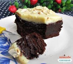 Brownie Dois Amores - Amando Cozinhar - Receitas, dicas de culinária, decoração e muito mais!