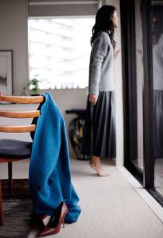 Zara met en scène ses vêtements portés par des blogueuses depuis quelques temps. Il y a Garance Doré, qu'on connait, et aussi d'autres jolies filles comme Yoshiko Krisdu blog Tokyo Dameauque