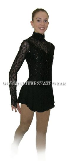 Dark, lacey black dress. Romeo and Juliet Overture or Shosti 10, movement 2.