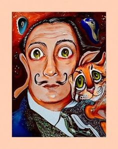 """""""Dali"""" #Creative #Art in #painting @Touchtalent"""