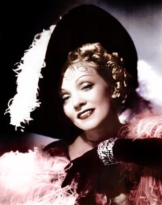 Marlene Dietrich.  Good night, enjoy the beauty. Annie