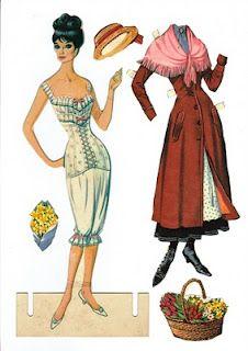 My Fair Lady paper doll.  www.bestfittingpanty.com