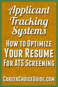 get your resume past the tracking systems with these keywords