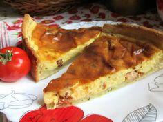 Amerikai szalonnatorta (Gluténmentesen is) Quiche, French Toast, Breakfast, Food, Breakfast Cafe, Essen, Quiches, Yemek, Custard Tart