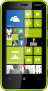 Nokia Lumia 620 5MP rear camera 330h max standby £140 PAYG