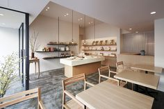 Azabuyasaigashi restaurant design by fan Inc Azabu yasaigashi shop by fan Inc, Tokyo Japan