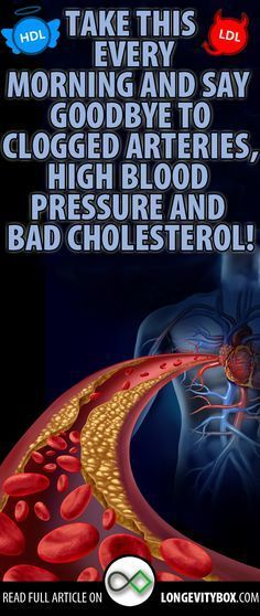 Take this every morning and say goodbye to clogged arteries, high blood pressure and bad cholesterol