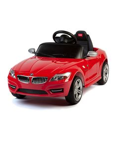 Look at this Red BMW Z-4 Ride-On on #zulily today!