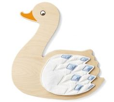 Mother Swan Ocean Theme Wall Decor by HABA, 053966