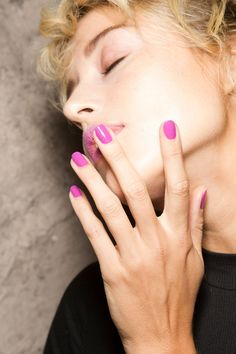 See All the Leading Nail Trends From London Fashion Week PPQ S/S 2017