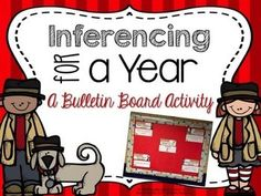 Inferencing can be a difficult task for many students but working on it everyday sometimes just isn't possible. With this activity your students can work on those inferencing skills EVERYDAY! This bulletin board activity allows you to target inferencing using different describing components.
