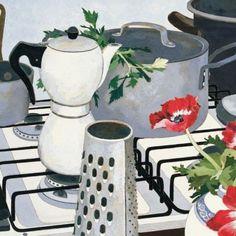 Of Delicious Recoil — Cressida Campbell Australian Painters, Australian Artists, Illustrations, Illustration Art, National Art School, Conceptual Art, Portrait Art, Flower Art, Still Life