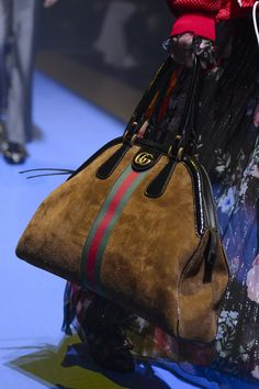 Gucci at Milan Fashion Week Spring 2018 Gucci at Milan Spring 2018 Shared by Career Path Design Source by flublue The post Gucci at Milan Fashion Week Spring 2018 appeared first on The Most Beautiful Shares. Hermes Handbags, Burberry Handbags, Gucci Bags, Fashion Handbags, Purses And Handbags, Fashion Bags, Gucci Gucci, Gucci 2018, Burberry Bags