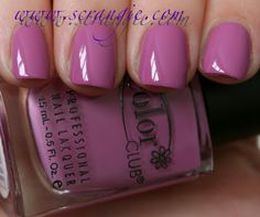 Color Club Sweet Pea- Color Club Blossoming Collection Spring 2012
