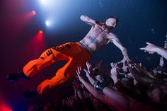 Die Antwoord at the PNE Forum, Vancouver - September 23, 2014. Kirk Chantraine photo. Full gallery and review on The Snipe News.