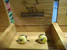 D&H: Look what is in the D&H showcases!  Bird Dog Bay Cuff Links
