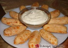 Cheese Biscuits, Recipe Images, Greek Recipes, Food And Drink, Appetizers, Tasty, Cookies, Snacks, Breakfast