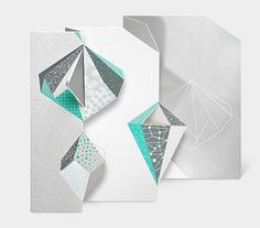 MoMA Ice Crystals Boxed Holiday Cards