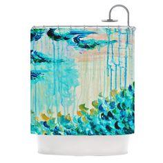 "Ebi Emporium ""Poseidons Wrath"" Shower Curtain"