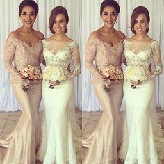 Sheer Lace Applique Bridal Gown Off Shoulder Gorgeous Wedding Dress 6 8 10 12 14