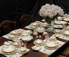 desert rose dishes franciscan | Desert Rose Estate Dinnerware Set by Franciscan at Replacements, Ltd.