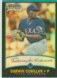2001 Bowman Chrome #178 Darwin Cubillan RC by Bowman Chrome. $1.55. 2001 Topps Co. trading card in near mint/mint condition, authenticated by Seller