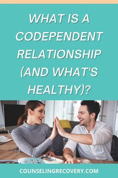 What a codependent relationship and what does a healthy relationship looks like? Find out about both in this short video. Codependency is based on an unhealthy dependency, a loss of self and an inability to let go even when a relationship is hurting you. You may not know that your relationship is codependent and that's ok - this video will show you what to look for and what healthy behaviors you can strive for! #codependent #relationship #codependency #relationshipadvice Relationship Problems, Relationship Advice, Codependency Recovery, Relapse Prevention, Improve Communication, Interpersonal Relationship, Coping With Stress, Improve Mental Health, Addiction Recovery