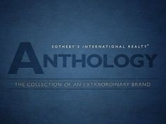 """""""Anthology"""" explores the unique characteristics that define the Sotheby's International Realty® brand.  From our 269 year old distinguished heritage to spotlighting some of our global media collaborations and more, Anthology takes viewers on a journey through many of the philosophies and qualities that set our brand apart.  Narrated by the senio..."""