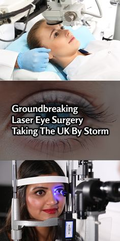 Revolutionary laser eye surgery is taking the UK by storm. The days of expensive glasses and overpriced contact lenses are coming to an end. With recent leaps in technology, treatment has become more affordable and accessible to people across the UK. Find out more >