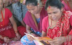 """""""It's like being blind, if you can't read and write."""" - Nepali woman  Hear the voices of illiterate women across Nepal in our latest blog post by Sushmita Lama, one of our awesome program associates: http://www.readglobal.org/blog/151-learning-to-read-in-Nepal"""