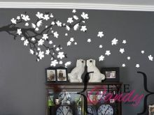 Description: Beautiful blossom branch vinyl wall art decal with fly away cherry blossom flowers measuring in length x in height, place your order and select the flower colour. Car Wall Art, Vinyl Wall Art, Cherry Blossom Flowers, Custom Vinyl, Room Paint, Vinyl Designs, Designer Wallpaper, Colorful Flowers, Nursery Decor