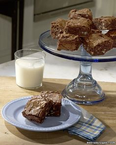 How to make the Perfect Brownies from Martha Stewart