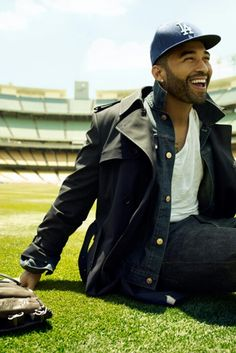 Doesn't get much better than this...baseball & Matt Kemp...a girl can dream ....