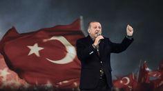 Le président turc Recep Tayyip Erdogan a assimilé à des «pratiques nazies» l'annulation de meetings en Allemagne durant lesquels devaient s'exprimer certains de ses ministres, faisant encore monter d'un cran les tensions entre les deux pays.