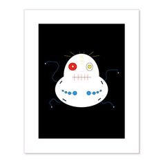 EggEye Screen Print (Limited Edition, Signed by Bartholomew Cubbins)