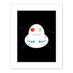 EggEye Screen Print (Limited Edition, Signed by Bartholomew Cubbins)