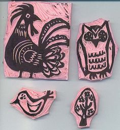 cutty #owl stamp
