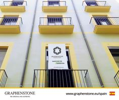 A new sustainable rehabilitation project is being carried out in the city of Barcelona.The facade of this residential building has been renovated with Graphenstone's Premium products. The company in charge of the project prescribed Graphenstone due to its strength and durability, as well as being one of the most advanced products for sustainable construction. #Graphenstone#Premium#NaturalPaint#Exterior #TheOriginalandAuthentic#Barcelona