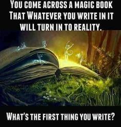 What would you want to become reality?