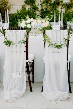 70 pure white wedding decor ideas for romantic wedding 12 Luxury Wedding, Diy Wedding, Wedding Events, Wedding Ceremony, Wedding Flowers, Dream Wedding, Wedding Day, Wedding Dresses, Garden Wedding