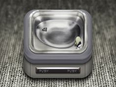 Drinking Fountain App Icon by Ben Sperry