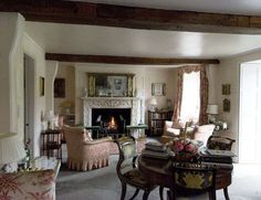 Beautiful Old World English country.  I love the proportions, but would like a tad less formal and with warmer colors