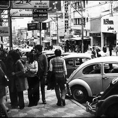 Augusta Street in the 70's  Sao Paulo - Brazil